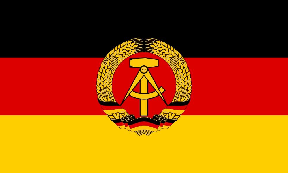 Warum war die Flagge in DDR und BRD schwarz, rot, gold?