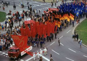 Mai-Demonstration 1974 Berlin