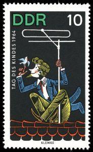 Briefmarke DDR, Kindertag