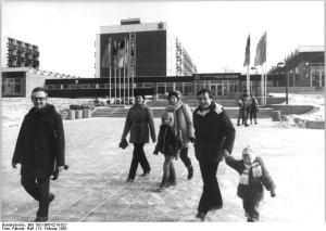 ADN-ZB Pätzold-18.2.1985 Schwerin: Neues FDGB-Ferienheim-Mit der kürzlich erfolgten Übergabe des FDGB-Ferienheimes