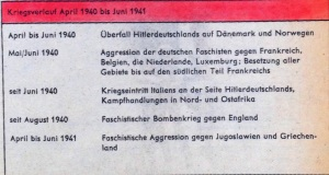 Kriegsverlauf 1939-1941