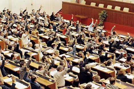 Abstimmung Annexion der DDR durch BRD