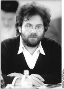 ADN-ZB-Mittelstädt-19.1.1990-Berlin: Carlo Jordan, Sprecher der Grünen Partei der DDR.