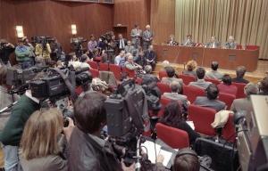historische Pressekonfrenz 09.11.1989