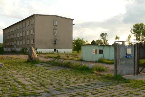 Ehemalige Grenztruppenunterkunft in Oebisfelde-Buchhorst im Drömling