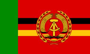 Flagge Grenzbrigade Küste