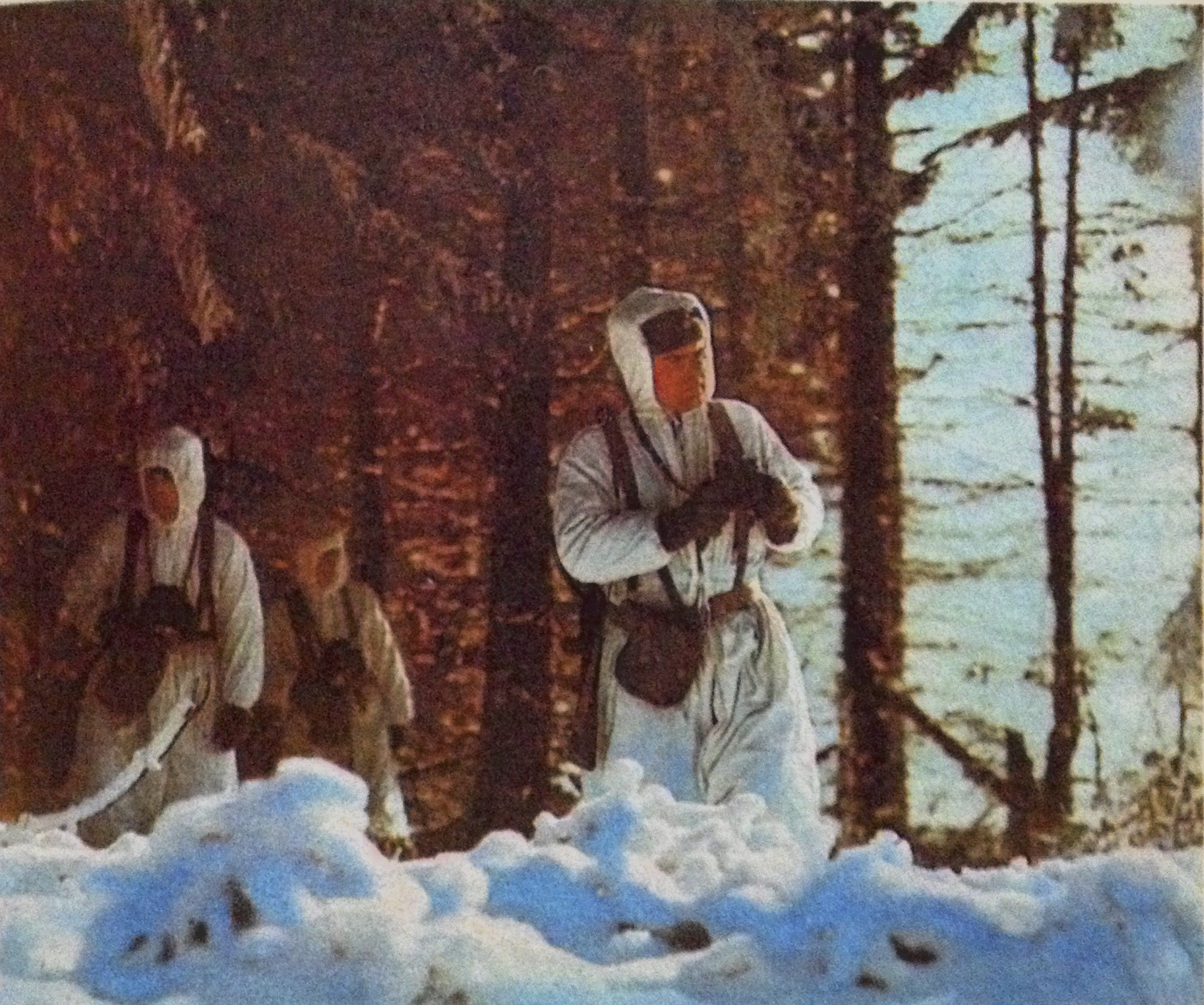 Grenztruppen DDR im Winter