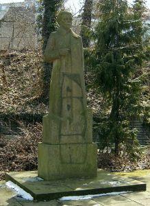 Erich Weinert-Denkmal in Farnkfurt(Oder)