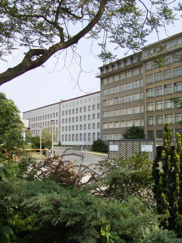Ministerium für Staatssicherheit Eingang Normannenstraße - Berlin