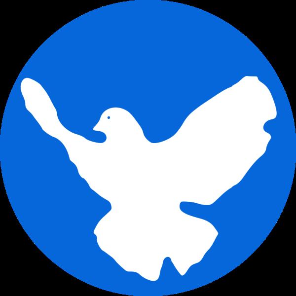 Friedenstaube- Zeichen vieler Friedensdemonstrationen