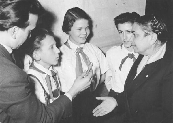 Steinpleis, Jugendweihe, Hilde Benjamin