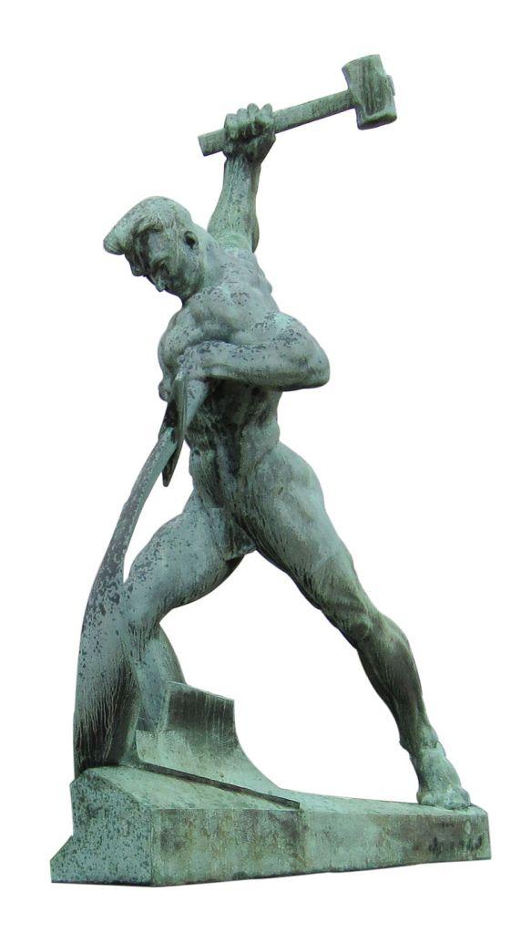 Weitere Einzelheiten Skulptur von Jewgeni Wutschetitsch