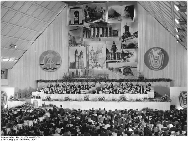 Erfurt, 11. CDU-Parteitag, Eröffnung