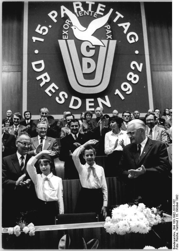 Dresden, 15. CDU-Parteitag
