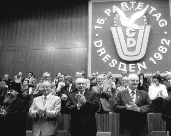Dresden, 15. CDU-Parteitag, Eröffnung