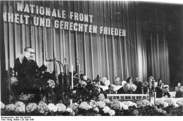 Berlin, III. Deutscher Volkskongreß, Rede Kastners