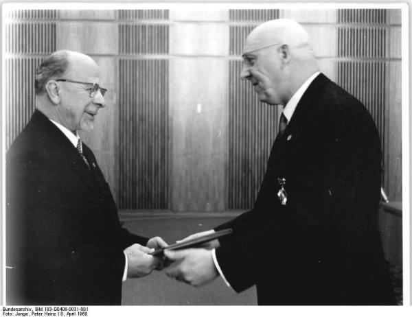 Berlin, neue DDR-Verfassung, Staatsakt
