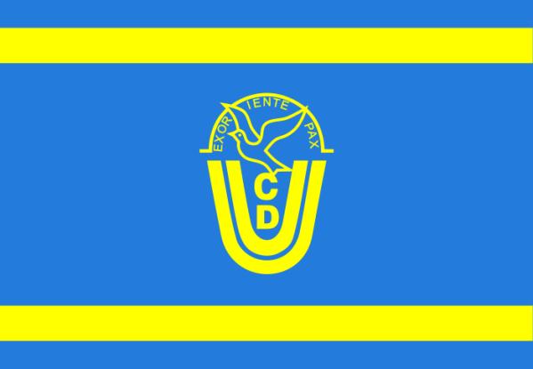 Parteibanner der CDU der DDR
