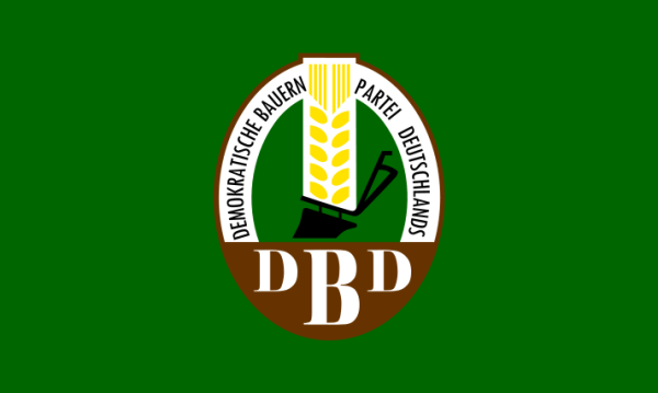 Parteiflagge der DBD