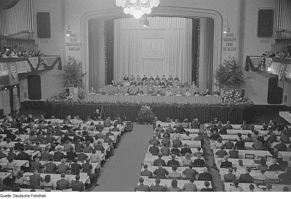 Parteitag der NDPD, 1950