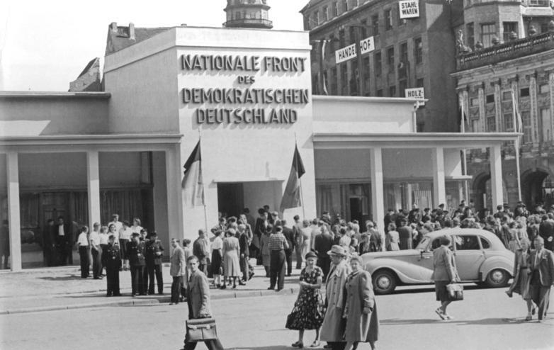 Leipzig, Herbstmesse, Pavillon der Nationalen Front