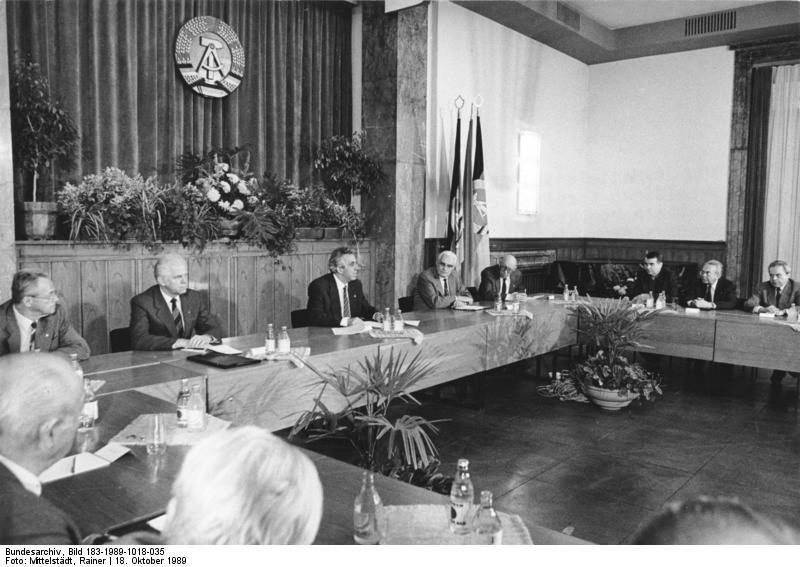 Berlin, Treffen des Zentralen Demokratischen Blocks