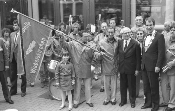 Wiebelskirchen, Besuch Erich Honecker
