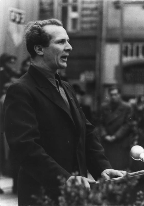 Zittau, Jugend-Dreiländertreffen, Erich Honecker