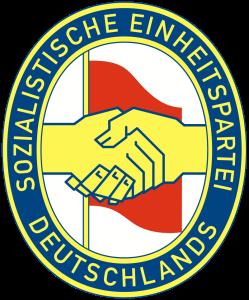 Logo der SED