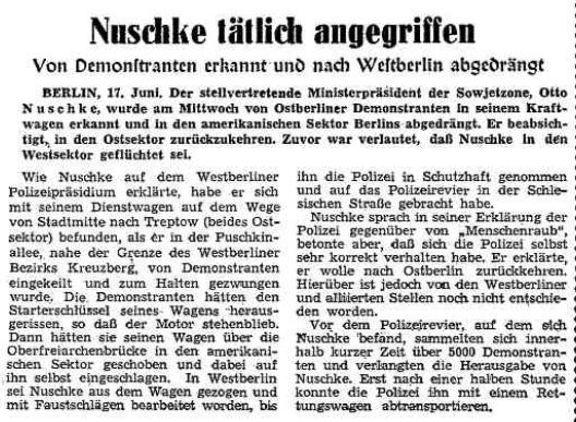 Nuschke entführt (17.06.1953)