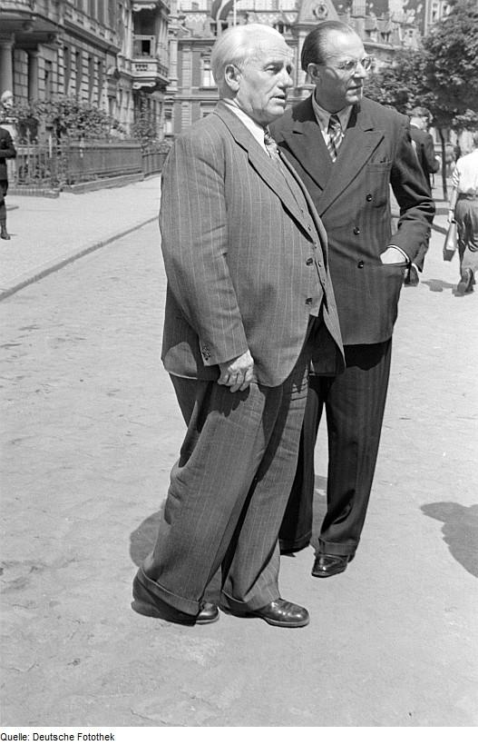 Wilhelm Pieck und Otto Grotewohl