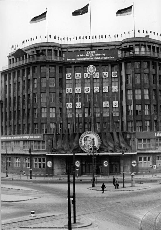 """Berlin, """"Haus des Zentralkommitees der SED"""""""
