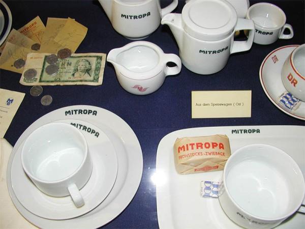 MITROPA-Geschirr aus der DDR