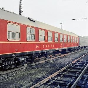 MITROPA-Schlafwagen DDR 1972