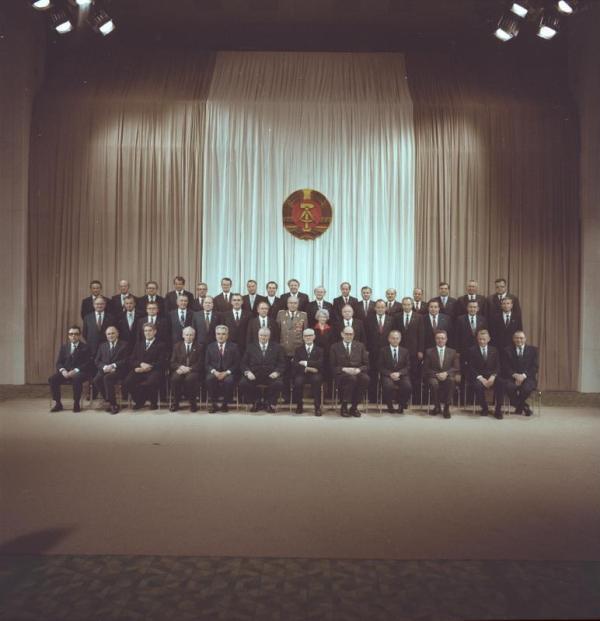 Berlin, Ministerrat der DDR, Gruppenbild
