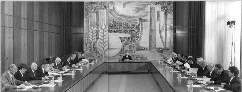 Berlin, DDR-Staatsratsitzung