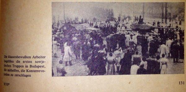 Niederschlagung konterrevolutionärer Versuch Ungarn 1956