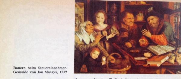 Bauern beim Steuereinnehmer, 1539