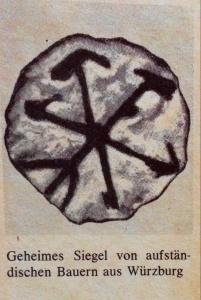 Geheimes Siegel der Bauern aus Würzburg