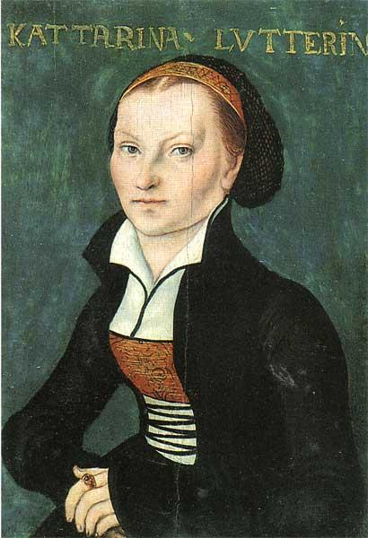 Katharina von Bora. Lucas Cranach der Ältere, um 1526