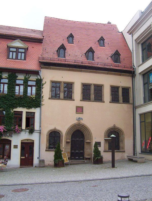 Luthers Sterbehaus in Eisleben
