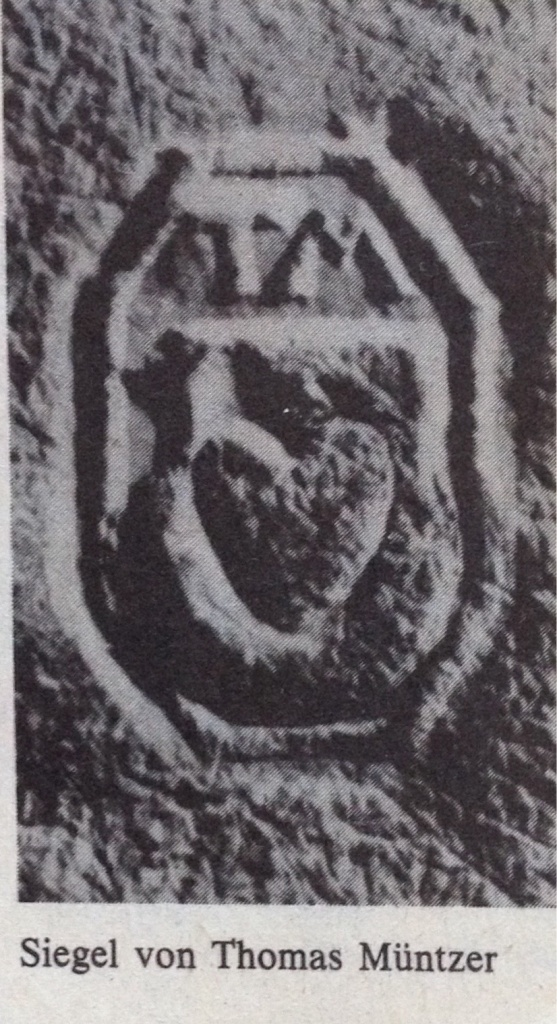 Siegel von Thomas Müntzer