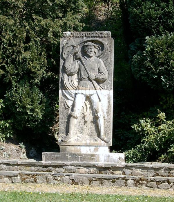 Thomas-Müntzer-Denkmal in Stolberg (Harz)