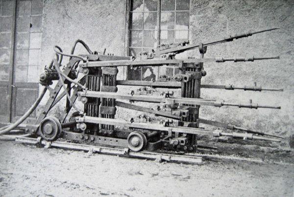 Druckluftbohrmaschine