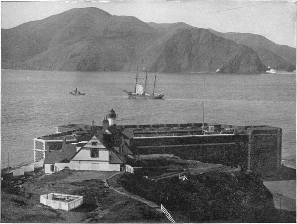 Golden Gate, um 1891