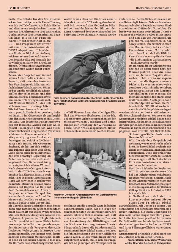 Friedrich Dickel Rotfuchs-Artikel 2