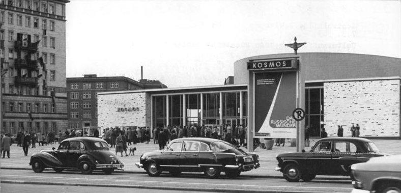 Berliner kosmos, Premierenort Film For Eyes Only