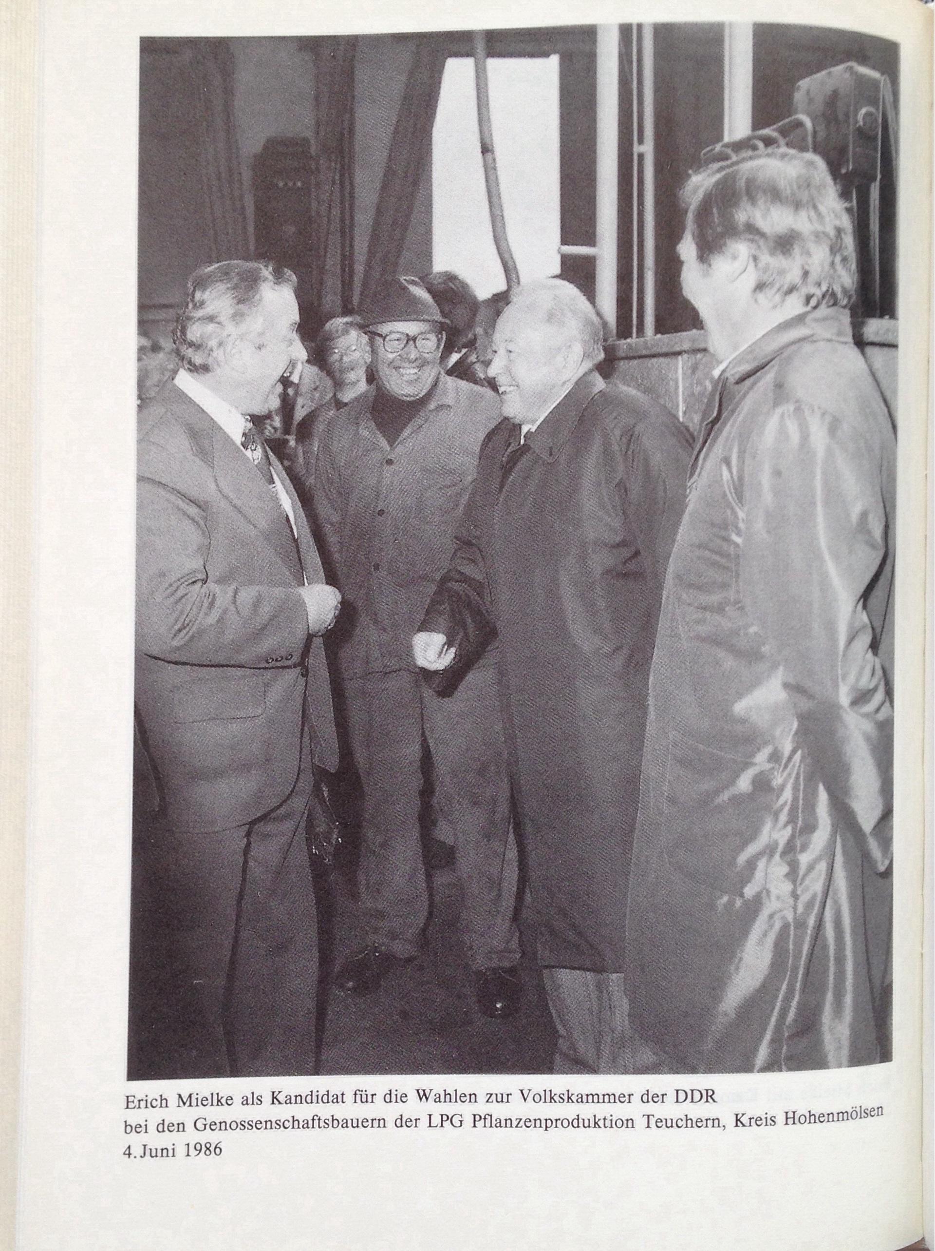 Erich Mielke: Wählerforum 1986