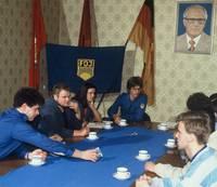 FDJ-Gruppenratssitzung
