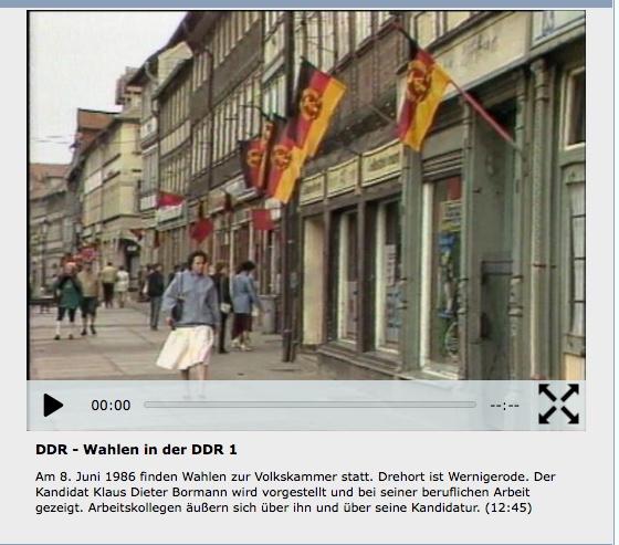 Vorschaubild Film Wahlen in der DDR 1